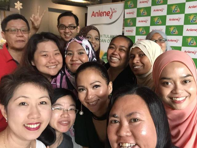 We just had to take a wefie with Sheila Majid!