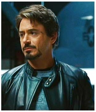 Gambar Tony Stark Leather Jacket