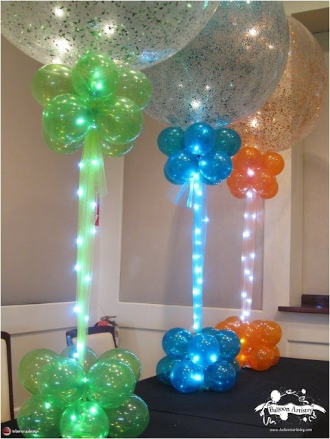 Interior Designs Using Colorful Balloons 9