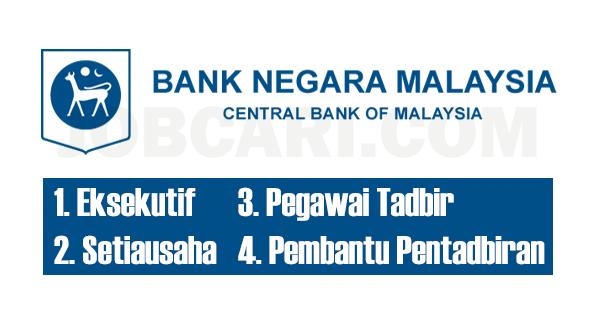 JAWATAN KOSONG DI BANK NEGARA MALAYSIA