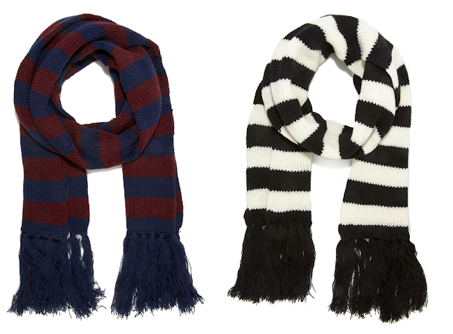 Forever 21 Striped Fringe Scarves 2 for only $5.99