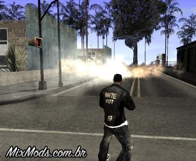mod de bomba de fumaça para gta