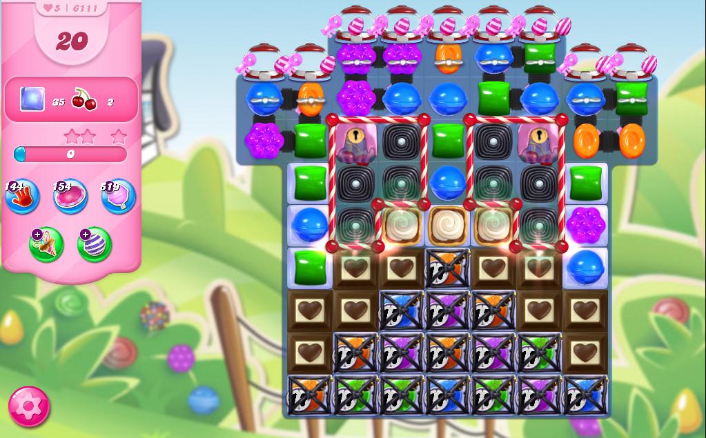 Candy Crush Saga level 6111