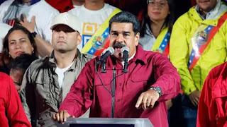 Maduro ganó, celebró