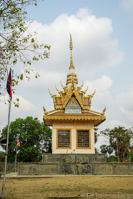 Mémorial de Choeung Ek - Battambang  - Cambodge