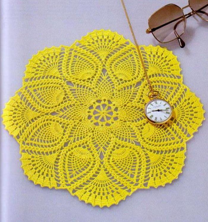 Crochet Patterns Drawing : Katrinshine: Free crochet doily patterns