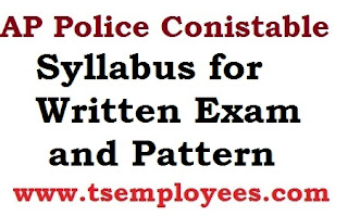 AP Police Conistable Syllabus for Written Exam Pattern