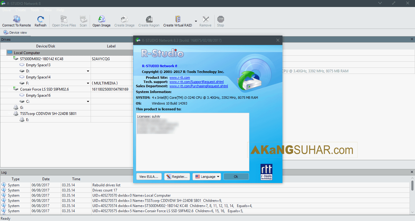 Gratis Download R-Studio Network Edition Full Crack Terbaru