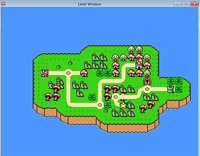 Super Mario Quest World Map Of Mushroom Kingdom