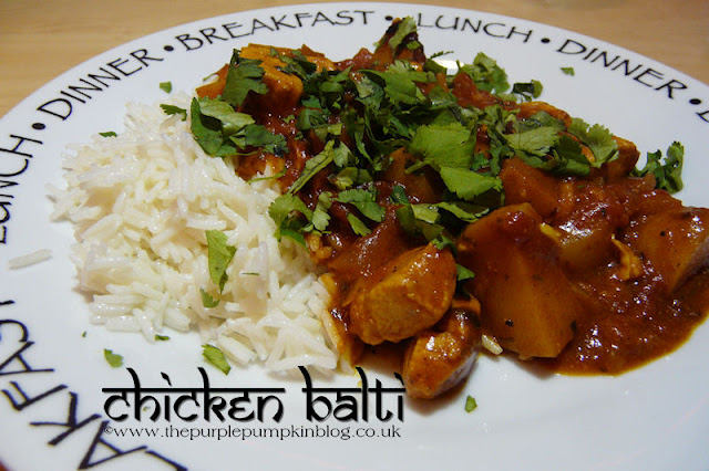 Low Calorie Chicken Balti Recipe