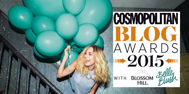 Shortlisted | Cosmopolitan Blog Awards