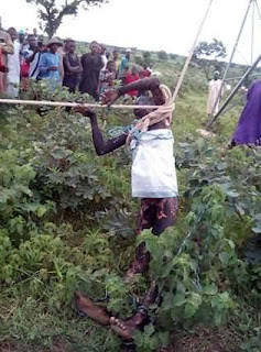 Photos: Alleged Thief Gets Electrocuted While Trying To Steal Cable In Niger State 2