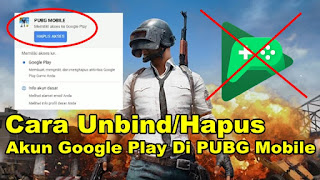 Cara Unbind/Hapus Game PUBG Mobile Dari Google Play Games