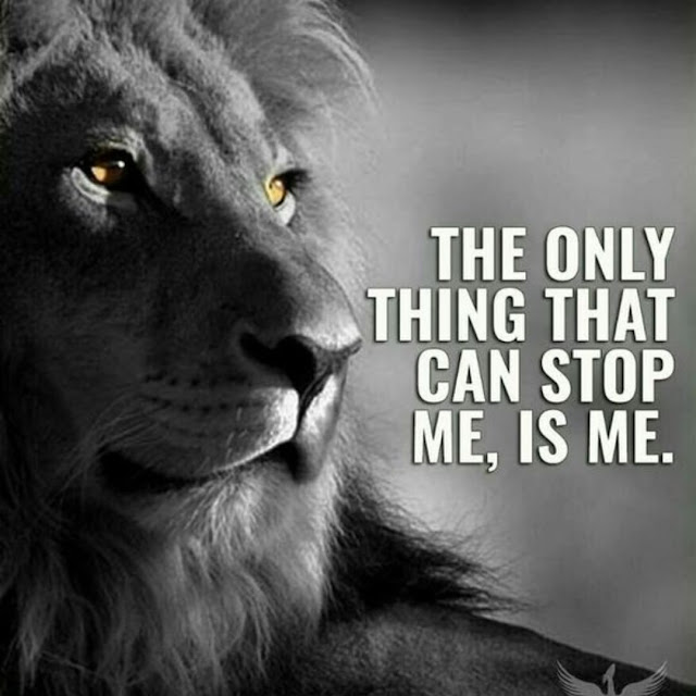 The only thing that can stop me, is me. #quote #truth #relatable #inspirational