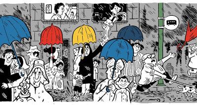 Memperingati Hari Lahir Mario Miranda ke 90, Google Persembahkan Kado Istimewa Berupa Doodle