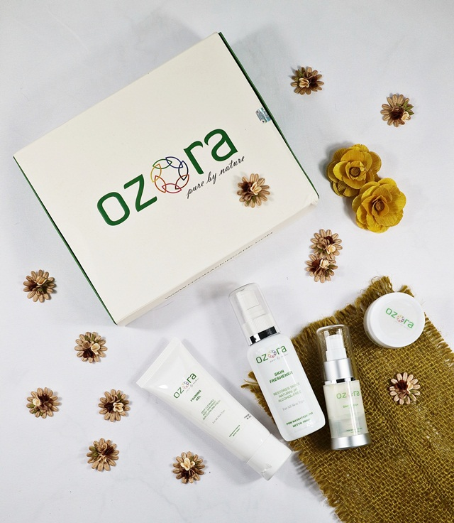 Unboxing Ozora Skincare