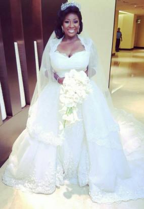 1 Photos: See Tolu Oniru's stunning wedding dress