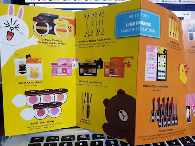 Missha x Line Friends Make Up Collection in Singapore