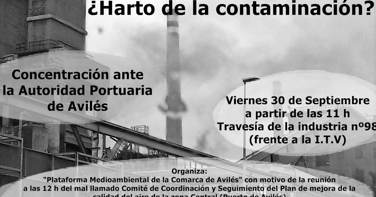 ddef5aa372c Vecinos y ecologistas se concentrarán a las puertas de la Autoridad  Portuaria de Avilés
