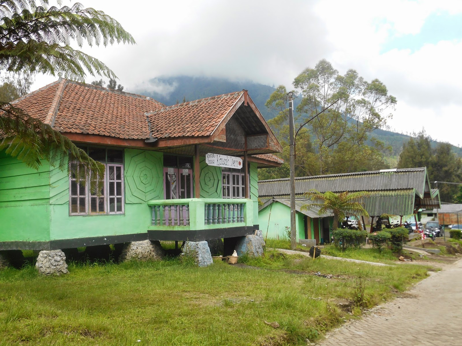 homestay at Ijen Crater