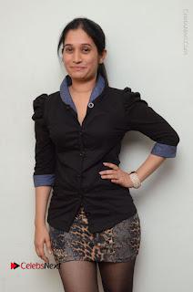 Telugu Actress Priyanka Pallavi Stills in Micro Mini Skirt at Nenosthaa Movie Song Launch at Radio City  0009.JPG