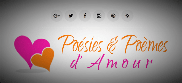 Site web romantique de poésie sur l'amour