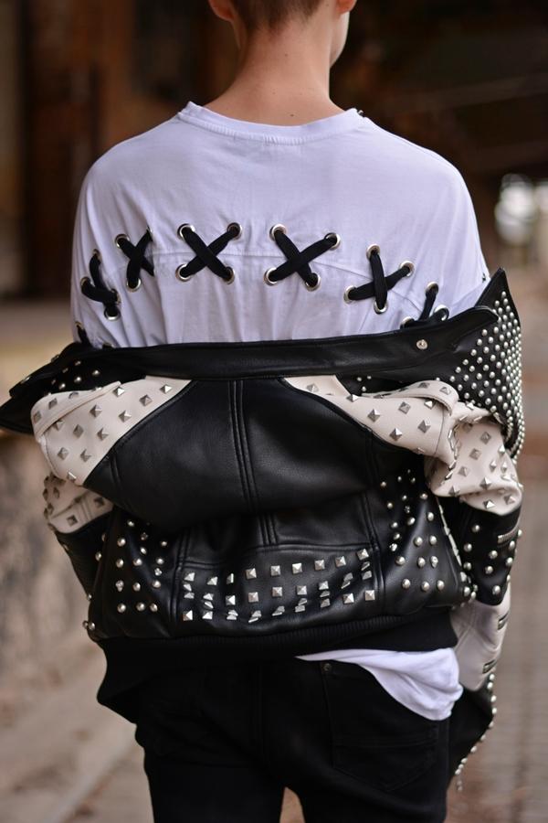 lässiger Look von Modeblogger in Deutschland