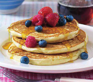 American buttermilk pancakes recipe