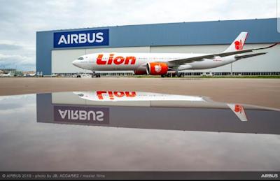 Ini  Penampakan Airbus 330-900NEO Pertama Lion Air PK-LEI Telah Diluncurkan ishabripedia