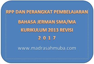 File Pendidikan RPP BAHASA JERMAN KELAS X. K-13 EDISI REVISI (PERANGKAT PEMBELAJARAN LENGKAP)