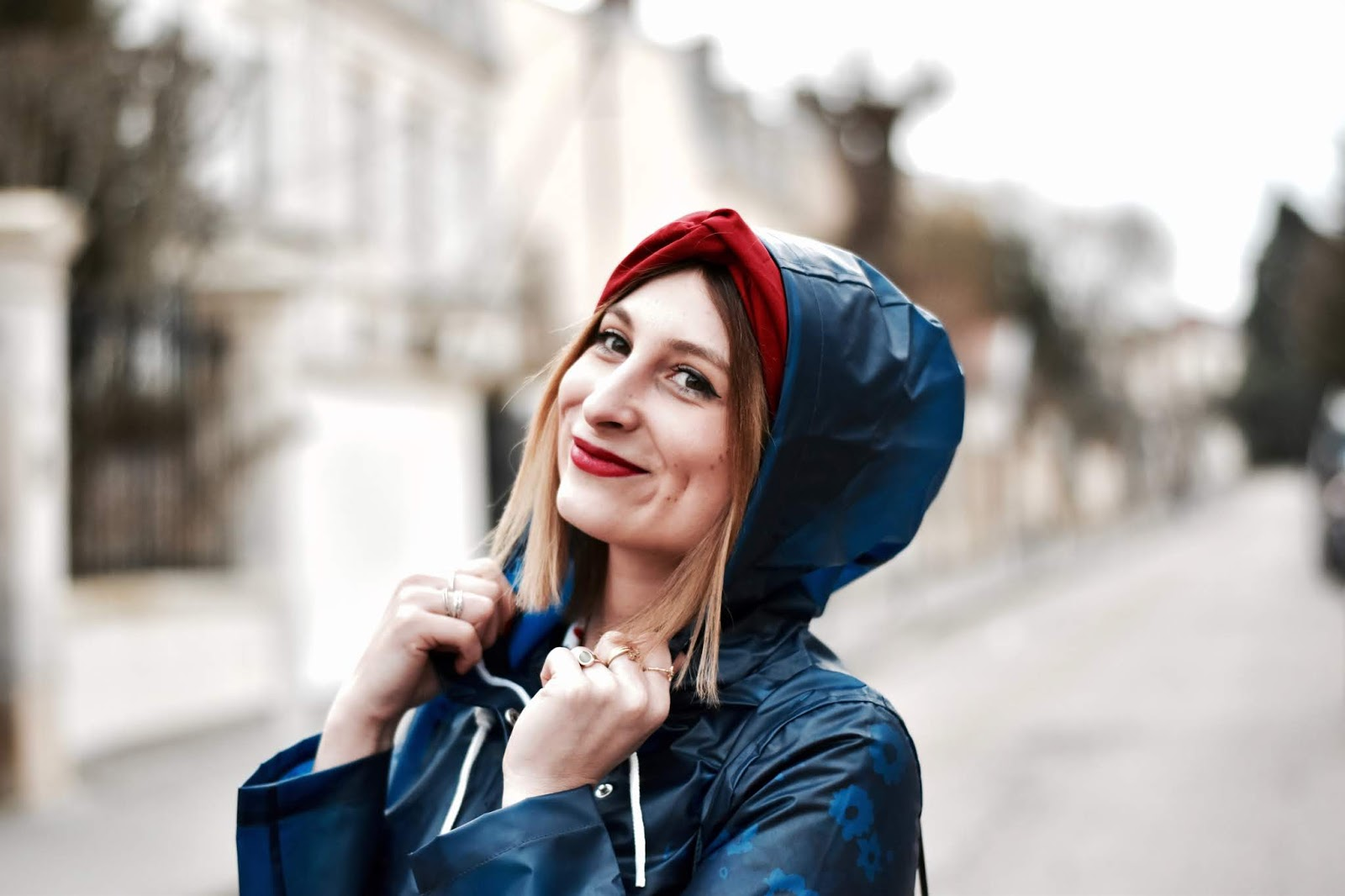 veste idéale pour les jours de pluie