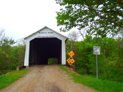McAllister Covered Bridge - Parke County, Indiana