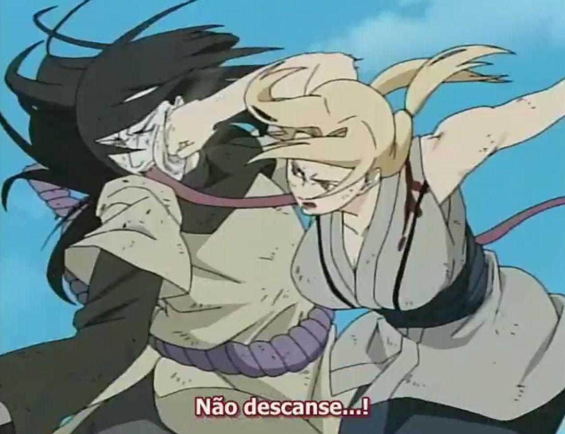 Naruto Clássico: Episódio 95-96 – A Batalha em que se Aposta a Vida!
