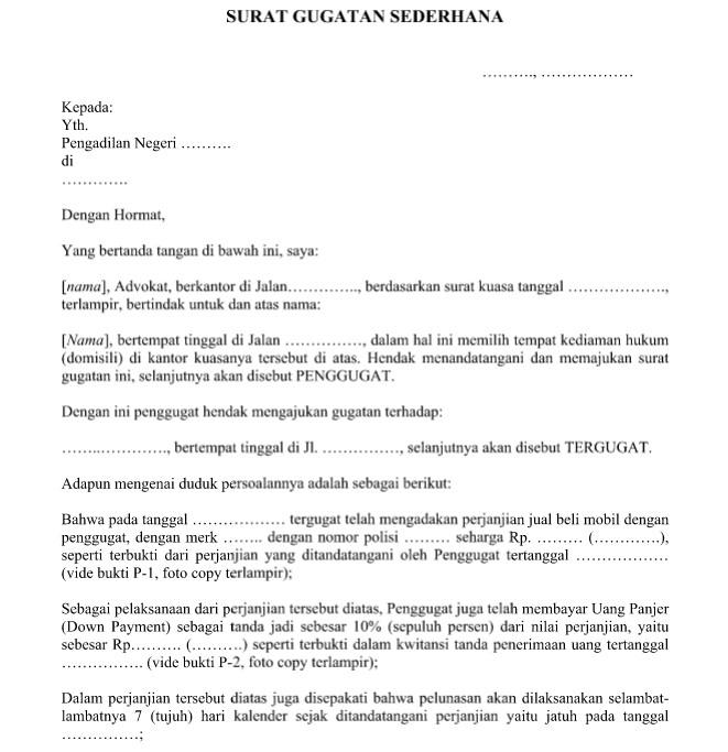 Contoh Surat Perjanjian Kerja Sama Yang Resmi Baik Dan Benar Format