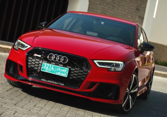 2018 Audi RS3 USA