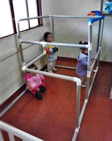 Túnel de Sensações para turmas de Berçários e Creches