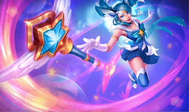 Mod Skin Lux Sailor Mercury