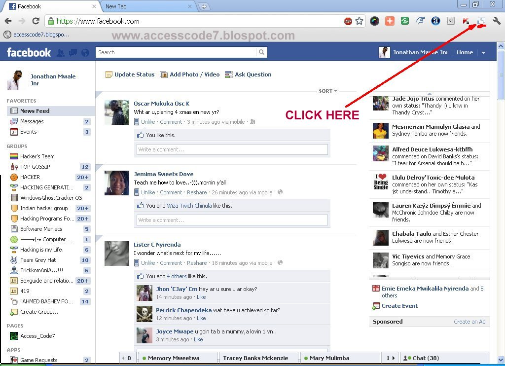 How To Hack Into A Facebook Account Free: TRICK ON HOW TO
