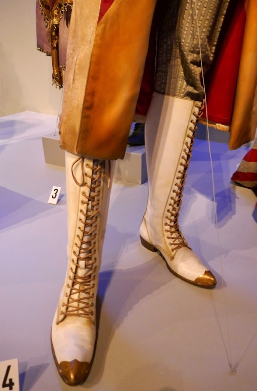 Unfortunate Events Count Olaf ringmaster boots