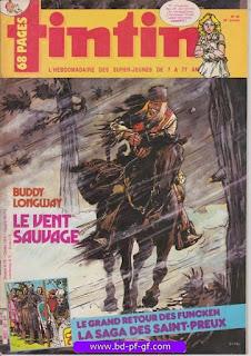 Tintin-numéro 46, année 38, 1983, Buddy Longway