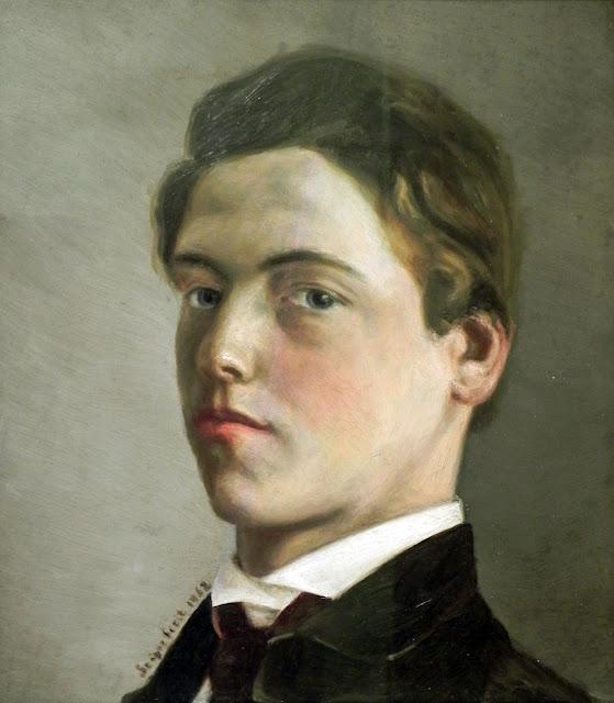Wilhelm Leibl, Self Portrait, Portraits of Painters, Fine arts, Portraits of painters blog, Paintings of Wilhelm Leibl, Painter Wilhelm