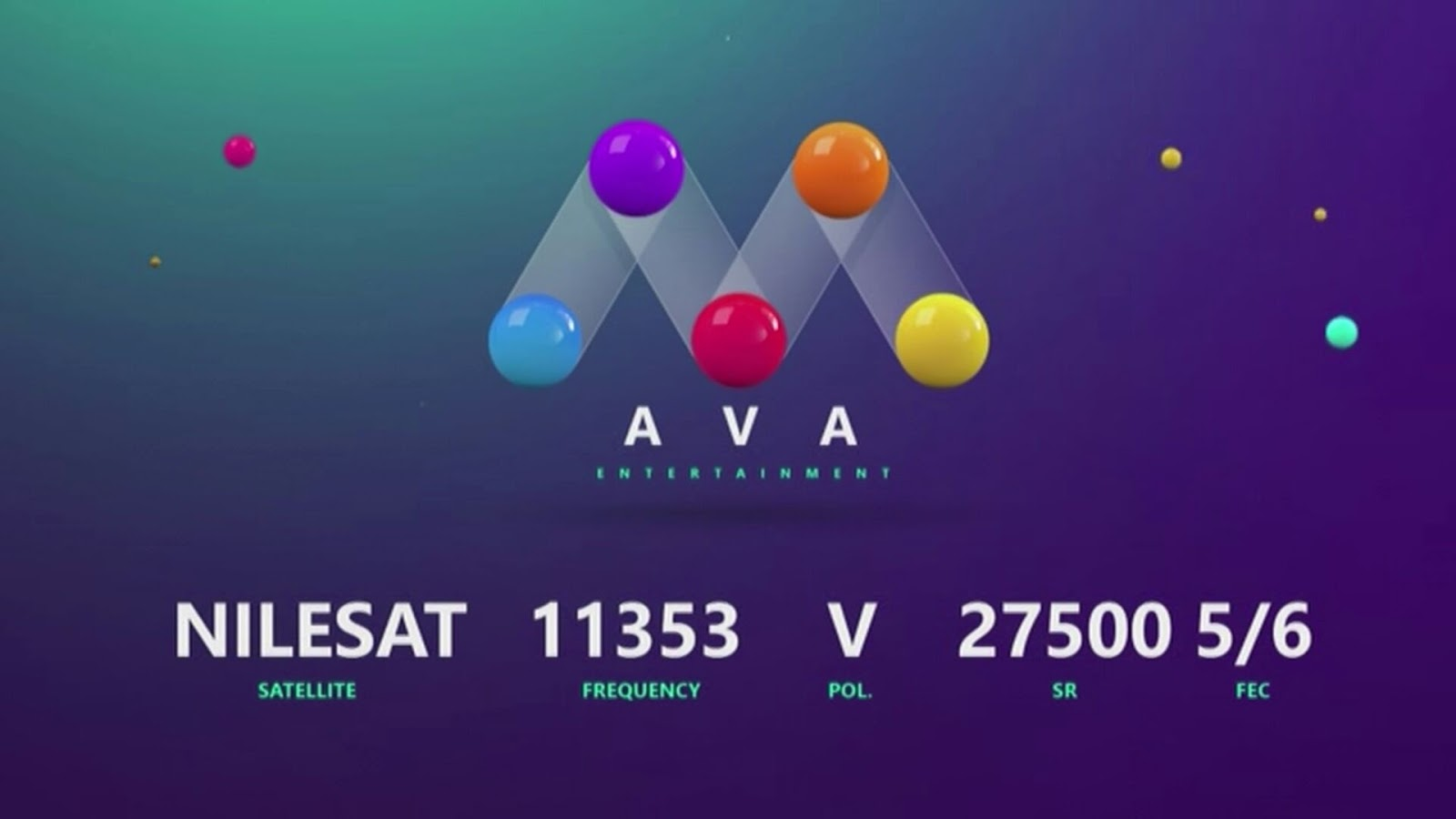 AVA TV - Nilesat Frequency - Freqode com