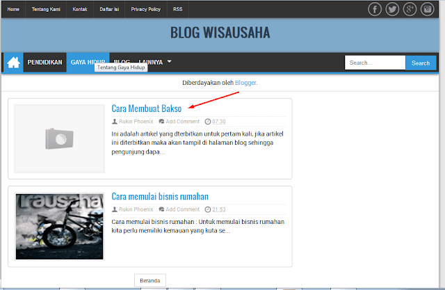 Cara Menulis dan  Memposting Artikel di Blog Lengkap
