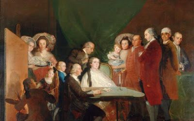The Family of the Infante Don Luis de Borbón, Goya