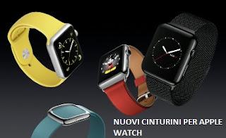 Nuovi cinturini per Apple Watch