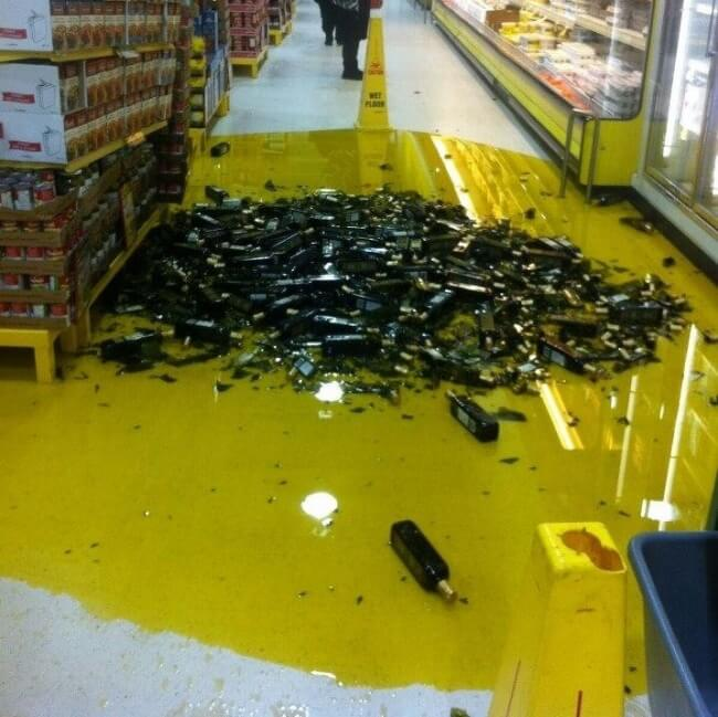 The Definition Of Bad Luck In 26 Images - After years in retail, that's the worst-case scenario.