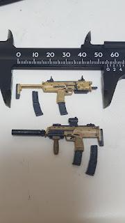 リトルアーモリー MP7A2 サイズ写真
