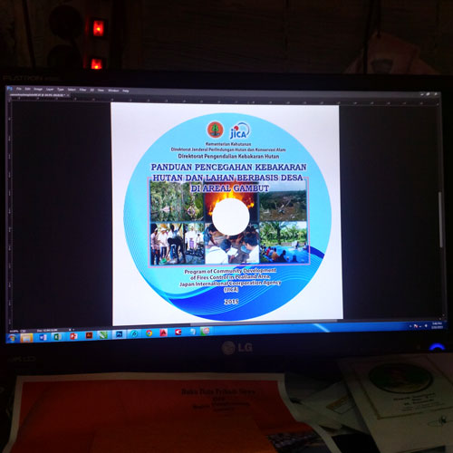 Contoh Cover CD Jakarta Timur