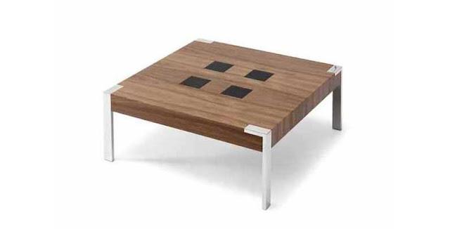 Arte h bitat tu tienda de muebles mesa kmc11502 de nogal for Muebles nogal yecla