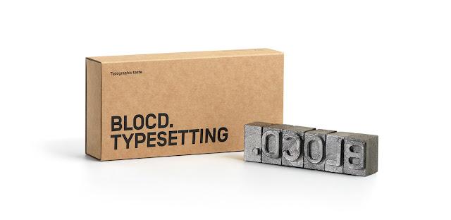 Dulces tipográficos inspirados en el nacimiento de la imprenta